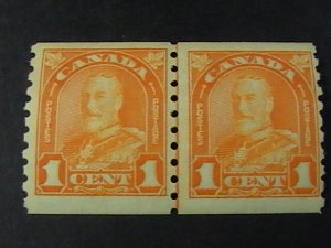 CANADA # 178--MINT NEVER/HINGED---LINE PAIR----1930