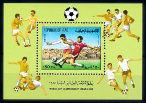 [91264] Iraq Irak 1982 World Cup Football Soccer Spain Souvenir Sheet MNH