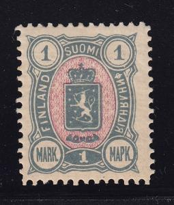 Finland scott # 35 VF-OG previously hinged scv $ 33 ! see pic !