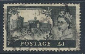 GB SG 539  Scott 312  heavy parcel cancel  Used  SPECIAL 7.5% cat
