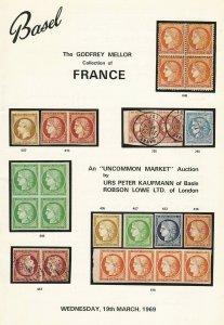 The Godfrey Mellor - France, Uncommon Market, Basel, Catalog, March 19, 1969