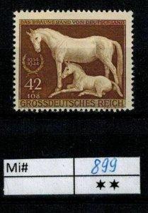 Deutschland Reich TR02 DR Mi 899 1939 Reich Postfrisch ** MNH