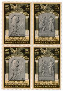 (I.B) Austria (Great War) Cinderella : War Welfare Fund 5h