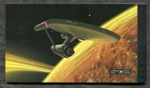 x606 - Canada STAR TREK Souvenir Booklet - Nimoy Shatner - Face C$19.44 - SiFi
