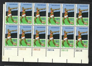 1790 Olympic Decathion MNH Plate Block LL