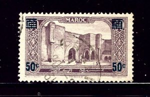 French Morocco 122 Used 1931 surcharge