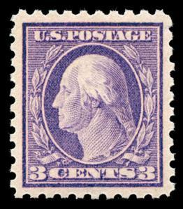 momen: US Stamps #426 Mint OG NH PSE Graded XF-SUP 95