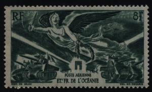 FRENCH POLYNESIA  #C10  MINT NEVER HINGED COMPLETE SET