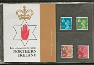 1976 NORTHERN IRELAND  MACHIN COUNTRY DEFINITIVE PRESENTATION PACK 84