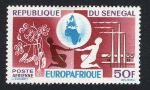 Senegal   #C36   1964  MH Europafrica issue
