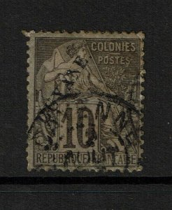 French Guiana SC# 22, Mint Hinged, Heavy/Multi Hinge/Pg Rems, see notes - S9870