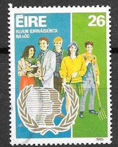 Ireland 1985 26p Youth Year, used, Scott #625