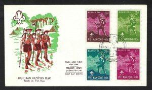 1959 Boy Scouts Vietnam National Jamboree FDC