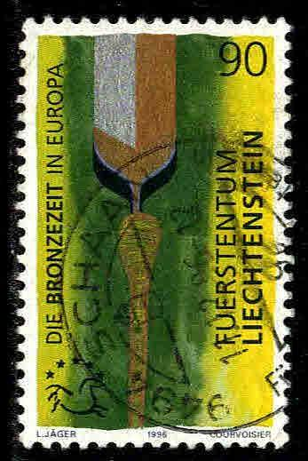 Liechtenstein # 1064 ~ Used, HMR ~ cv. 1.50