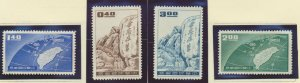 China (Republic/Taiwan) Stamps Scott #1235 To 1238, Mint Never Hinged - Free ...