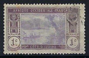 Ivory Coast 42 VFU R916-3