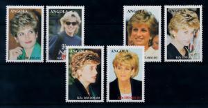 [95286] Angola 1998 Royalty Princess Diana  MNH