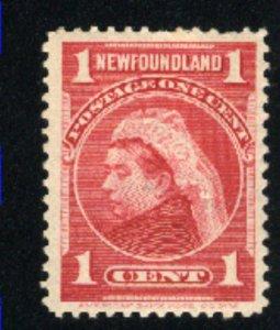 Newfoundland 79 Mint VF H 1897-1901 PD