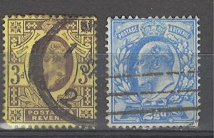 COLLECTION LOT # 4248 GREAT BRITAIN #131-2 1902 CV+$30
