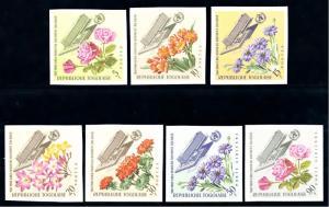 [66938] Togo 1966 Flora Flowers Blumen  MNH