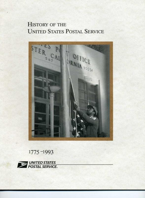 USPS Publication History of the USPS