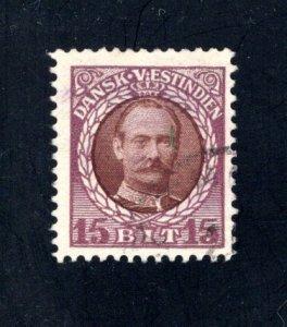 Danish West Indies #45,  F/VF,  Used,   CV $4.50 ....1630043