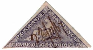 (I.B) Cape of Good Hope Revenue : Stamp Duty 6d
