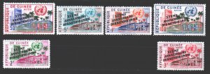 Guinea. 1960. 56-59.65-66. 15 years of the UN. MNH.