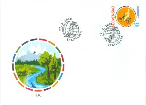 SLOVAKIA/2020 - (FDC) Joint Issue with Italia: Milanophil 2020, MNH