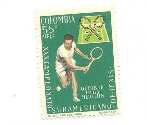 Colombia 1963 - Scott #C454 *