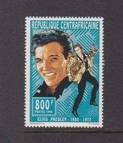 REPUBLIQUE CENTRAFRICAINE   STAMPS MNH OF ELVIS PRESLEY #1097 .LOT#441