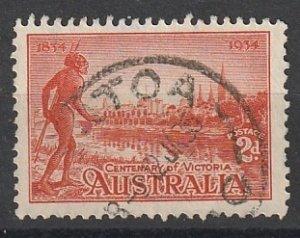 #142a Australia Used Perf 11.5