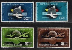 THAILAND Scott 490 Used letter writing set 1967