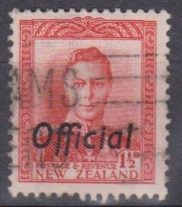 New Zealand #O92B F-VF Used (B6675)