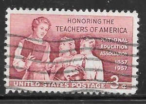 USA 1093: 3c Teacher and Pupils, used, VF