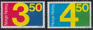 Norway 903-904, MNH (1987)