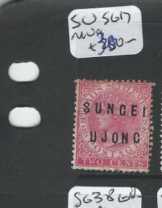 MALAYA SUNGEI UJONG (P0510B) QV 2C  SG 17  MNG