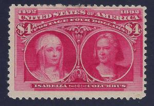 U.S. 244 Mint FVF SCV$2,100.00 Intense (244-24)