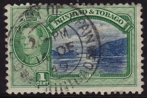Trinidad & Tobago - 1938 - Scott #50 - used - First Boca