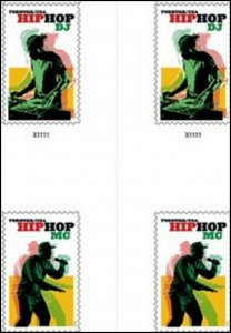 US 5480 5483 Hip Hop forever cross gutter block (4 stamps) MNH 2020 after 7/15