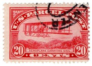 (I.B) US Postal Service : Parcel Post 20c