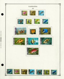 Tanzania Loaded Mostly Mint 1970's to 1990's Popular Stamp Collection