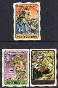 Mauritania 553-553B MNH VF