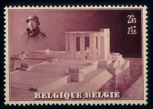 [66495] Belgium 1938 Memory Albert I From Sheet MNH Original Gum