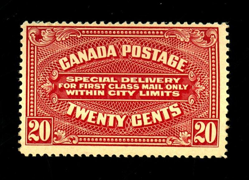 Canada #E2 MINT FVF OG NH Cat $220