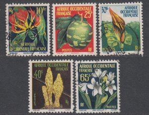 French West Africa 79-83 MH (see Details) CV $4.00