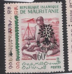 Mauritania Refugee 26 Leaves After SC 135 Type I MNH (1dgi)