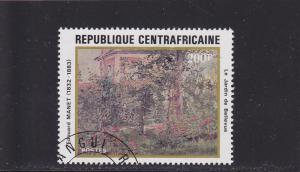 Central African Republic  Scott#  517  CTO