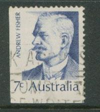 Australia SG 505  VFU  Booklet stamp bottom left