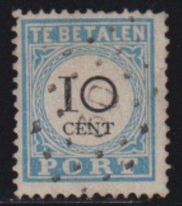 Netherlands 181-87 SC J7C USED